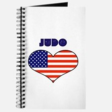 LOVE JUDO STARS AND STRIPES Journal