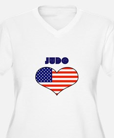LOVE JUDO STARS AND STRIPES T-Shirt
