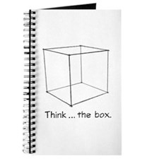 """""""Think ... the box."""" Journal"""