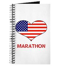 LOVE MARATHON THE STARS AND STRIPES Journal