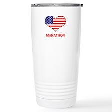 LOVE MARATHON THE STARS AND STRIPES Travel Mug