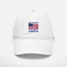 Flag1a Baseball Baseball Cap