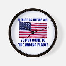Flag1a Wall Clock