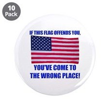 "Flag1a 3.5"" Button (10 pack)"