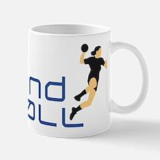 female handball player Mug