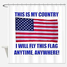 Flag2a Shower Curtain