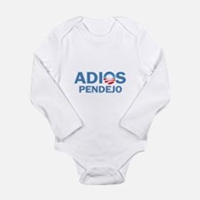 Adios Pendejo Long Sleeve Infant Bodysuit