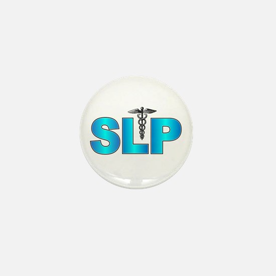 SLP Blue Mini Button