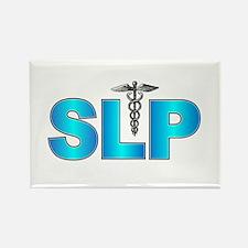 SLP Blue Rectangle Magnet