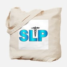 SLP Blue Tote Bag