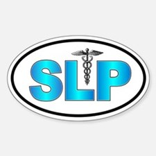 SLP Blue Oval Decal