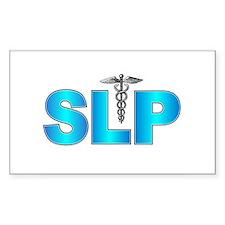 SLP Blue Rectangle Decal