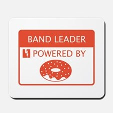 Band Leader Powered by Doughnuts Mousepad