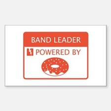Band Leader Powered by Doughnuts Decal