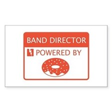 Band Director Powered by Doughnuts Decal