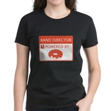 Band Director Powered by Doughnuts Tee
