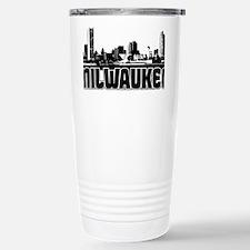 Milwaukee Skyline Travel Mug