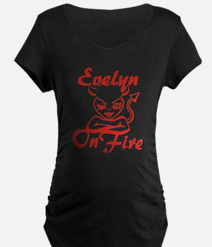 Evelyn On Fire T-Shirt