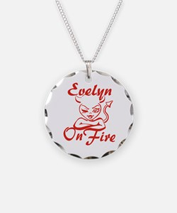 Evelyn On Fire Necklace