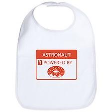 Astronaut Powered by Doughnuts Bib