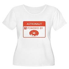 Astronaut Powered by Doughnuts T-Shirt