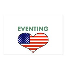 LOVE EVENTING STARS AND STRIPS Postcards (Package