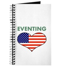 LOVE EVENTING STARS AND STRIPS Journal