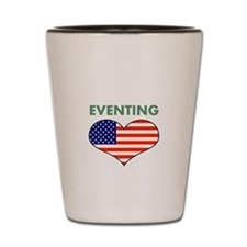 LOVE EVENTING STARS AND STRIPS Shot Glass