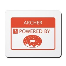 Archer Powered by Doughnuts Mousepad