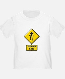 Zombie Crossing sign T