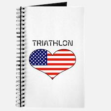 LOVE TRIATHLON STARS AND STRIPES Journal