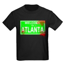 Welcome to Atlanta Bloody sign T