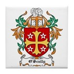 O'Scully Coat of Arms Tile Coaster