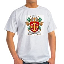 O'Scully Coat of Arms Ash Grey T-Shirt