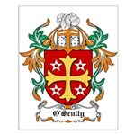 O'Scully Coat of Arms Small Poster
