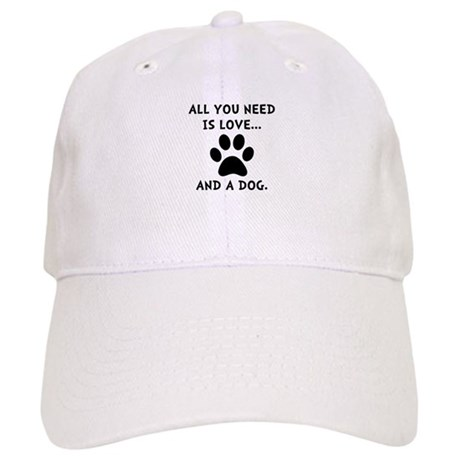 Need Love Dog Cap