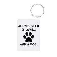 Need Love Dog Keychains