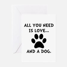 Need Love Dog Greeting Cards (Pk of 20)