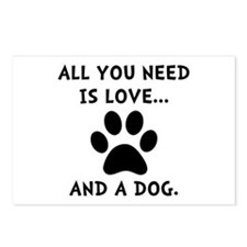 Need Love Dog Postcards (Package of 8)