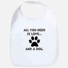 Need Love Dog Bib