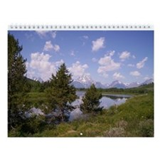Grand Tetons & Yellowstone Wall Calendar