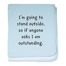 Outstanding baby blanket
