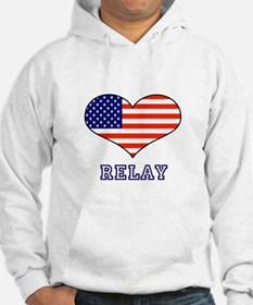 LOVE RELAY the stars and stripes Hoodie