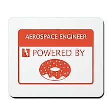 Aerospace Engineer Powered by Doughnuts Mousepad