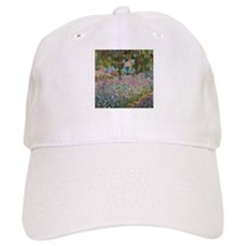 Irises In Monet's Garden Baseball Cap