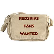 Redskins Fans Wanted Messenger Bag