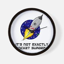 Rocket Surgery Wall Clock