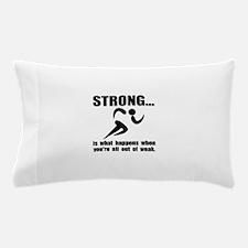 Running Strong Pillow Case