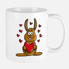 rabbit hearts Mug