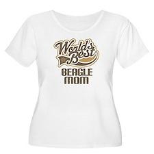 Beagle Mom (Worlds Best) T-Shirt